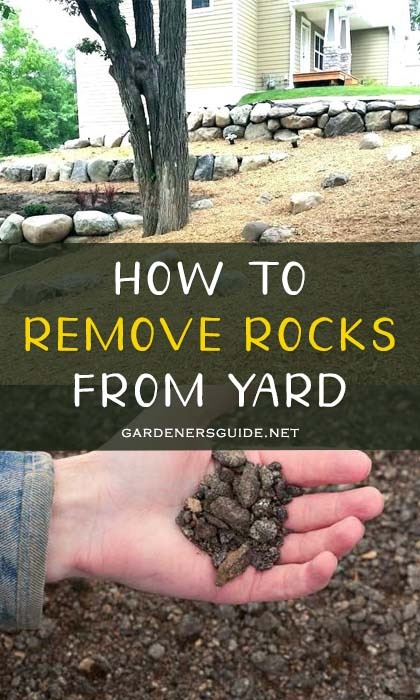 how to remove rocks from yard - Effectively Remove Rocks From Yard With The Following Steps